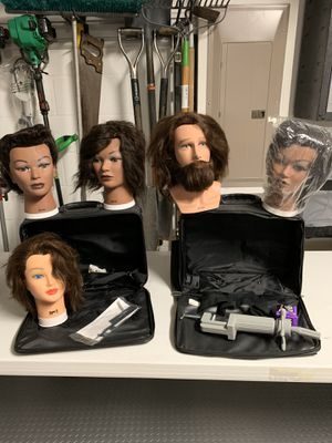 Mannequin training heads for Sale in Palmetto, FL