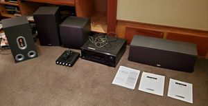 Speakers & receiver (sound system) for Sale in Seattle, WA