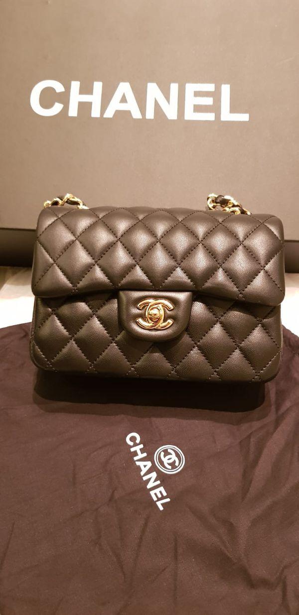 Chanel shoulder bag size small