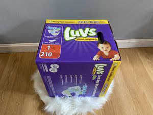 Luvs diapers for Sale in Haverhill, MA