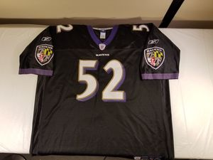 NFL Authentic 3X Baltimore Ravens Jersey for Sale in Oakton, VA