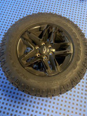 "18"" set of 4 Chevy Silverado TRAIL BOSS AT4 Sierra black 2019 2020 OEM 5911 wheels rims for Sale in VLG WELLINGTN, FL"