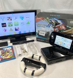 Nintendo Wii U Video Game Bundle W/ Mario Kart 8 for Sale in Vancouver,  WA