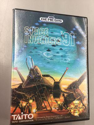 Sega Genesis Space Invaders '91 video game Cartridge for Sale in Kent, WA