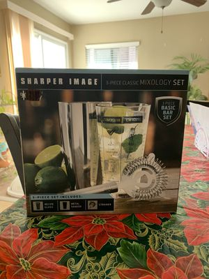 3 Piece Classic Mixology Set for Drinks for Sale in Riverside, CA
