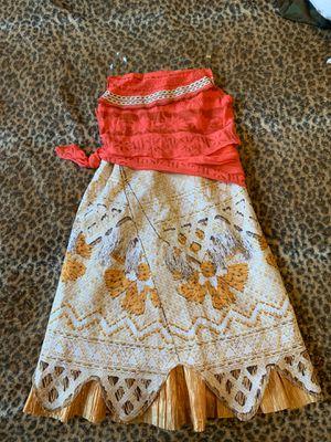 Moana Dress Costume for Sale in Brandon, FL