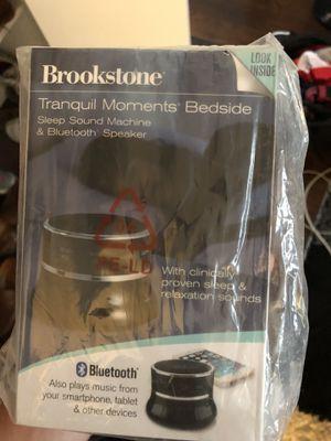 Brookstone sleep sound machine and Bluetooth speaker for Sale in Chicago, IL