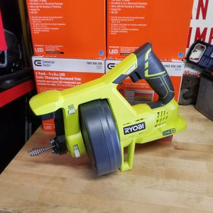 Ryobi 18v Cordless 25ft Drain Auger (Tool Only!!) for Sale in Upland, CA