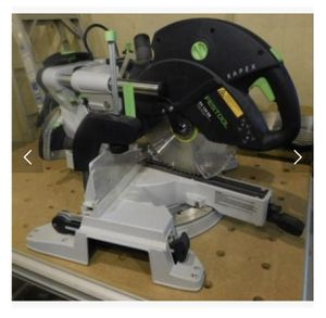 Festool Kapex KS 120 EB Sliding Compond Miter saw for Sale in Palos Verdes Estates, CA