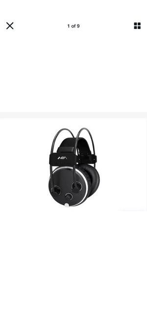 Nia s1000 Wireless Noise Canceling Over-Ear Headphones w/micro sd/fm radio black for Sale in Mt. Juliet, TN