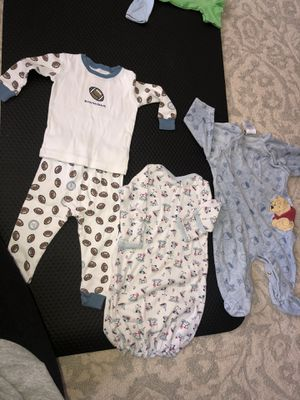 0-3 month baby boy clothes for Sale in Nottingham, MD
