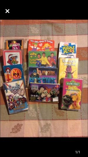 Large lot of various kids cassette tapes for Sale in Milnesville, PA