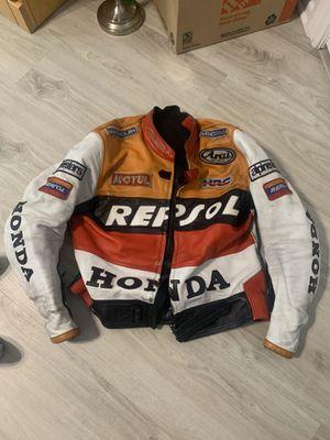 HRC Honda Repsol Motorcycle Jacket for Sale in Orange, CA
