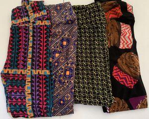 LuLaRoe Women's One Size Leggings [Lot of 4] for Sale in Fresno, CA