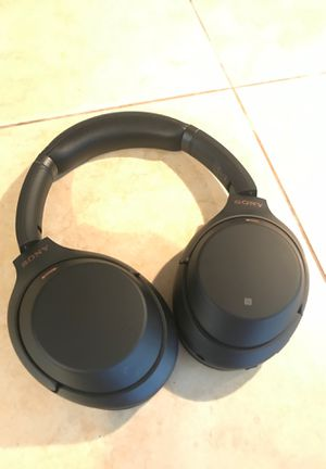 Sony WH1000XM3 Noise Cancelling Headphones, Wireless Bluetooth Over the Ear Headset – Black for Sale in Palm Harbor, FL