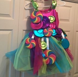 Chasing Fireflies Candy costume size 12 for Sale in Humble, TX