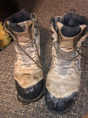 Redwing Irish Setter Steel Toe Boots Men's Size 11 Slip Resistant Oil Field Ready for Sale in Dickinson, ND