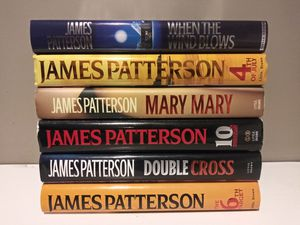 James Patterson Lot of 6 Hardcover Books for Sale in Naugatuck, CT