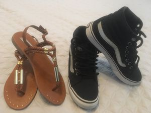 Steve Madden and Vans shoes $20 for Sale in West Palm Beach, FL