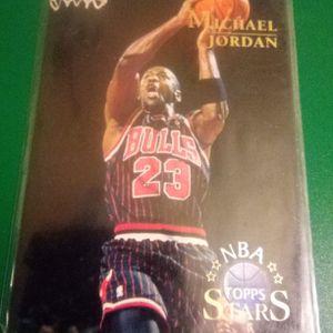 96 Topps Stars Michael Jordan Card #24 for Sale in Redmond, OR