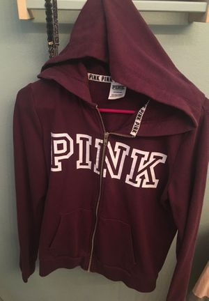 PINK By Victoria's Secret ZIP Up Hoodie Size S for Sale in Las Vegas, NV