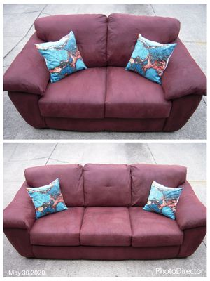 GREAT Microfiber Sofa and Loveseat for Sale in Chesterfield, VA