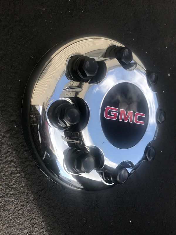 Gmc duelly front center cap on 15742005
