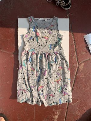 H&M unicorn dress Size 6-8Y for Sale in South Gate, CA