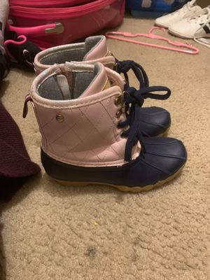 Tommy Hilfiger raining boots size 13 kids for Sale in La Vergne, TN