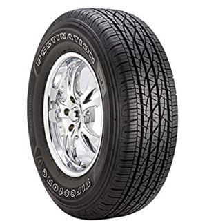For Jeep Patriot. Set of 4. Firestone Destination LE2 All-Season Radial Tire -205/70R16 96T for Sale in Denver, CO