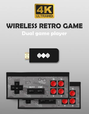 600 in 1 Wireless Retro Gaming Console for Sale in DENVER, CO