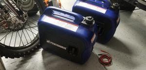 Two 2000w super quiet rv generators for Sale in Clovis, CA