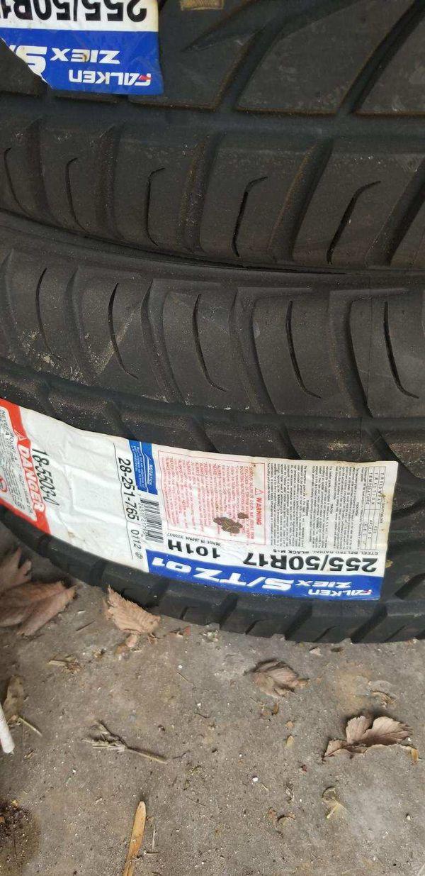 (4) GMC Denali Truck Tires