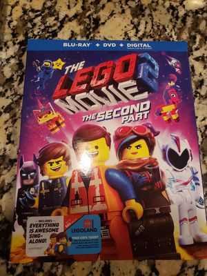 Brand new movie The Lego Movie 2 Blue Ray for Sale in Overland Park, KS