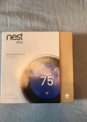 Nest pro 3 learning thermostat. for Sale in Chantilly, VA