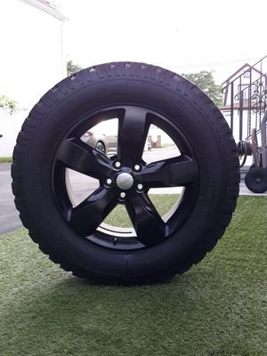 Jeep jeep wrangler wheels and bumper for Sale in Queens, NY