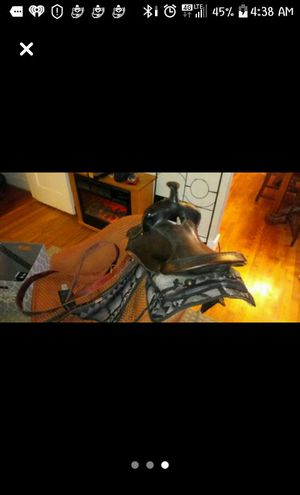 Western saddle for Sale in Columbia, SC