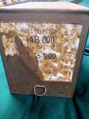 Antique prescription box for Sale in Gladewater, TX