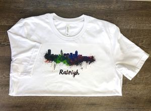 Raleigh Skyline T-shirt for Sale in Apex, NC