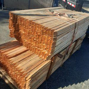 750 Wood Stakes 1x2 for Sale in San Bernardino, CA