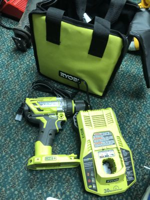 Hammer Drill, Tools-Power Ryobi In Bag. w/ Battery & Charger for Sale in Baltimore, MD