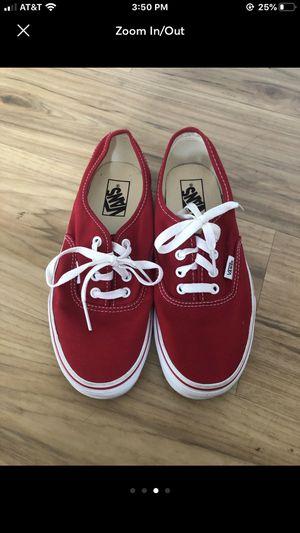 Red vans for Sale in Virginia Beach, VA