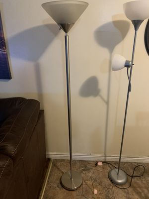 2 Chrome lamps for Sale in Inglewood, CA