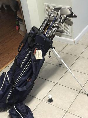 Lot of 24 Premium Golf Club set + bag for Sale in Hyattsville, MD