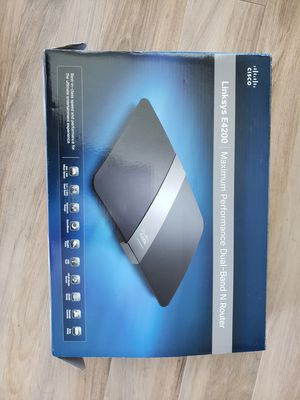 Linksys E4200 Performance Internet Wireless Router for Sale in Portland, OR