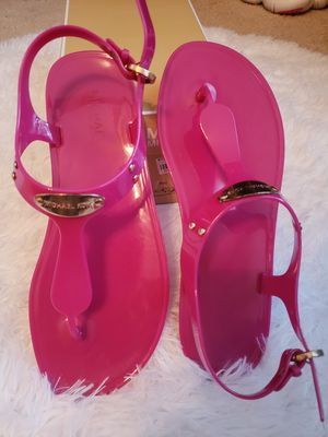 Women Size 8 Mk Jelly Sandals for Sale in Raleigh, NC