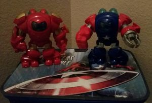 Imaginext Iron man and captain America for Sale in Henderson, NV