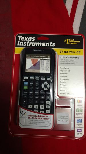 Texas instruments TI-84 plus CE for Sale in Payson, AZ