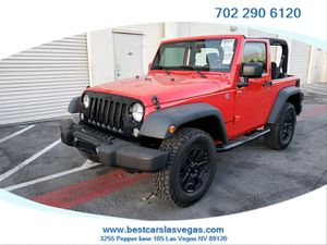JEEP WRANGLER 2015 with 28K MILES ; INHOUSE FINANCE; NO CREDIT CHECKS; ASKING $7K DOWN ; READ BELOW FOR MORE INFO!! for Sale in Las Vegas, NV