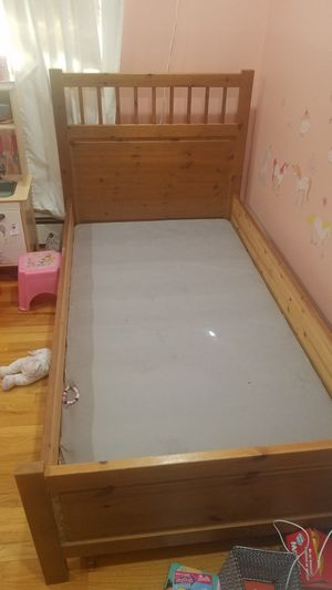 Twin Ikea Malm bed frame for Sale in Monroe Township, NJ